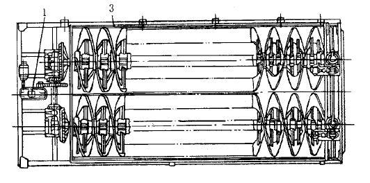 红星选矿设备-螺旋分级机结构图1